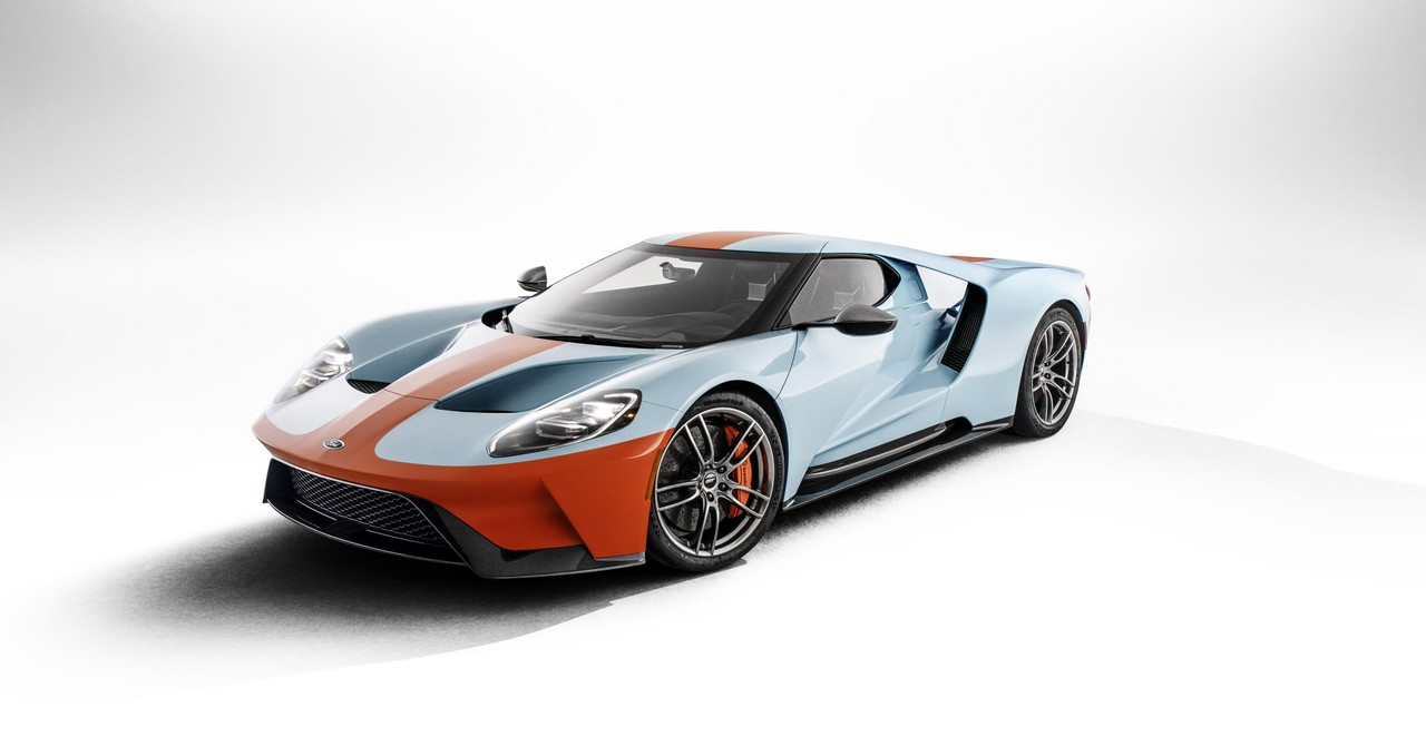 2019 Ford GT Heritage Edition in Gulf Livery