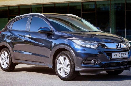 2019 Honda HR V UK 1 550x360 at 2019 Honda HR V Set for UK Releases in October