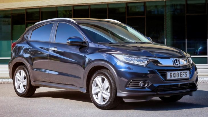 2019 Honda HR V UK 1 730x411 at 2019 Honda HR V Set for UK Releases in October