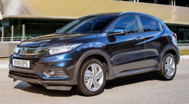 2019 Honda HR V UK 2 730x403 at 2019 Honda HR V Set for UK Releases in October