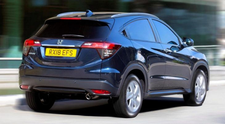 2019 Honda HR V UK 3 730x403 at 2019 Honda HR V Set for UK Releases in October
