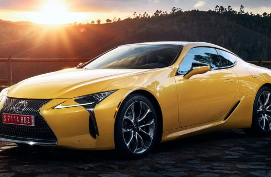 2019 Lexus LC Yellow Edition 550x360 at 2019 Lexus LC Yellow Edition Brings to Mind the LFA