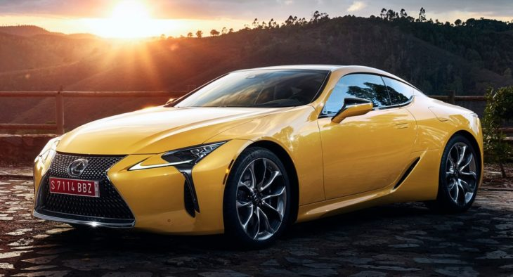 2019 Lexus LC Yellow Edition 730x394 at 2019 Lexus LC Yellow Edition Brings to Mind the LFA