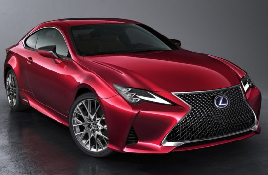 2019 Lexus RC Coupe 1 550x360 at Enhanced 2019 Lexus RC Coupe Set for Paris Debut
