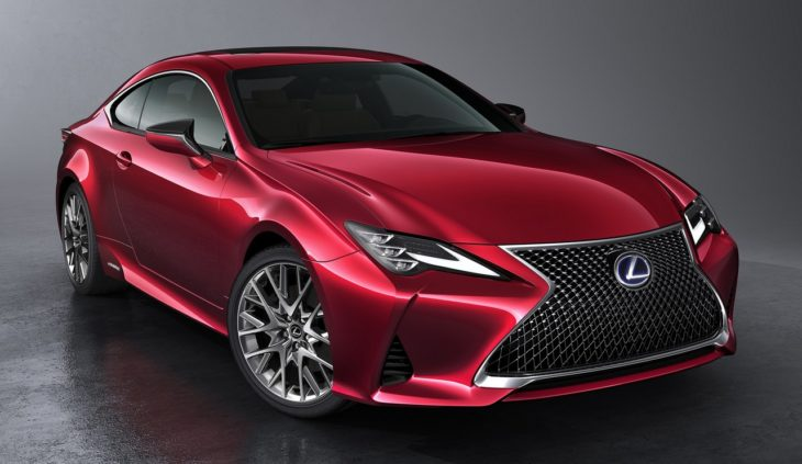 2019 Lexus RC Coupe 1 730x423 at Enhanced 2019 Lexus RC Coupe Set for Paris Debut