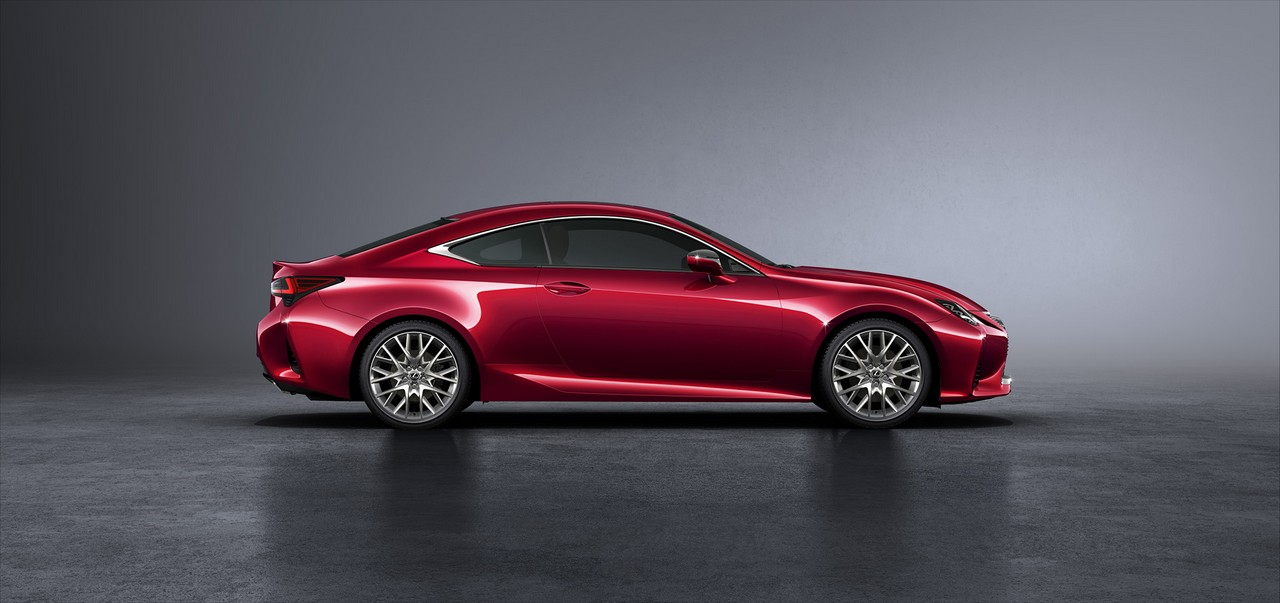 Enhanced 2019 Lexus Rc Coupe Set For Paris Debut