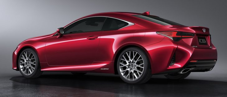2019 Lexus RC Coupe 8 730x313 at Enhanced 2019 Lexus RC Coupe Set for Paris Debut