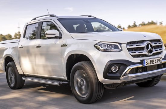2019 Mercedes X Class V6 350d 1 550x360 at 2019 Mercedes X Class V6 350d Priced from £38,350 in the UK