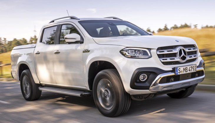 2019 Mercedes X Class V6 350d 1 730x417 at 2019 Mercedes X Class V6 350d Priced from £38,350 in the UK