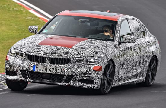 2019 bmw 3 series 1 550x360 at 2019 BMW 3 Series Previewed Testing at Green Hell