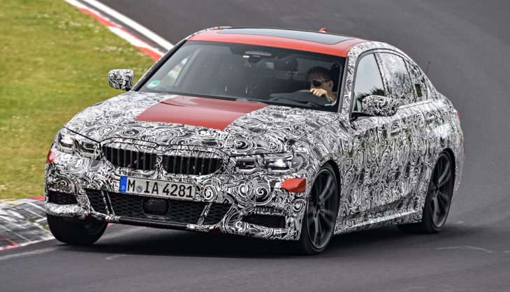 2019 bmw 3 series 1 730x418 at 2019 BMW 3 Series Previewed Testing at Green Hell