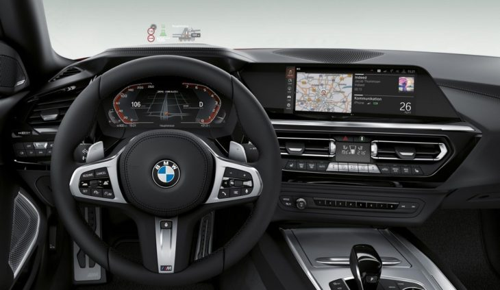 2019 bmw z4 10 730x423 at 2019 BMW Z4 Officially Unveiled at Pebble Beach