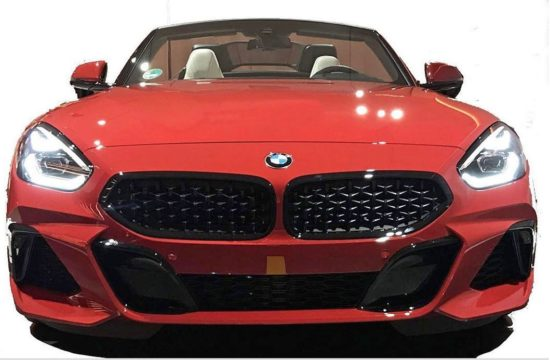 2019 bmw z4 leak 1 550x360 at 2019 BMW Z4 Leaked: Great Backside, Average Face