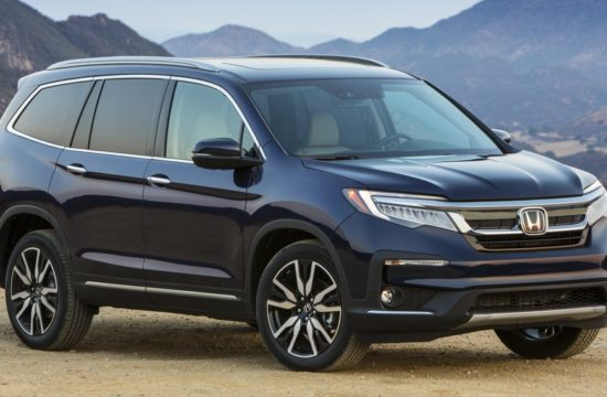2019Honda Pilot Elite 001 550x360 at 2019 Honda Pilot 8 Seat SUV Launched   Priced from $31,450