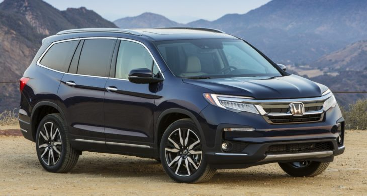 2019Honda Pilot Elite 001 730x391 at 2019 Honda Pilot 8 Seat SUV Launched   Priced from $31,450