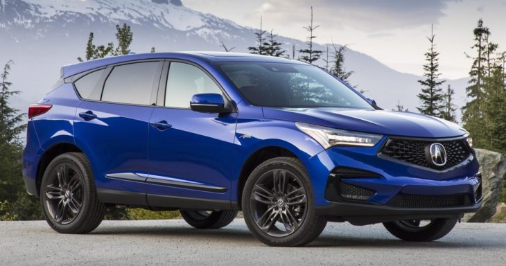2019 Acura RDX A Spec 133 730x384 at 2019 Acura RDX Rated Top Safety Pick+ by IIHS