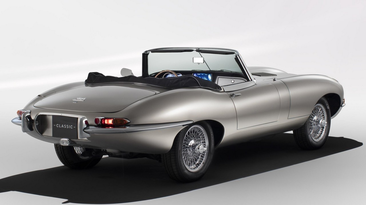all electric jaguar e type zero headed for production. Black Bedroom Furniture Sets. Home Design Ideas