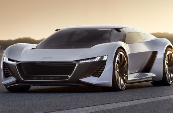 Audi PB18 e tron 1 550x360 at Audi PB18 e tron Takes Pebble Beach by (Electrical) Strom