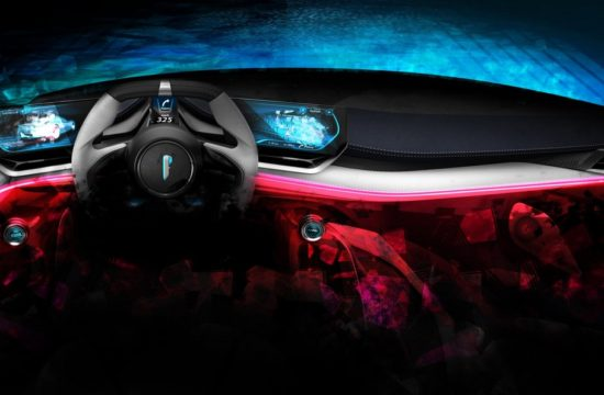 Automobili Pininfarina PF0 Interior Driver 550x360 at Pininfarina PF0 Hypercar Teased for Pebble Beach Debut