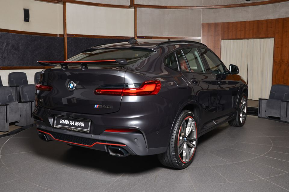 The Main Ingredients Of This Special 2019 Bmw X4 M40i Besides The Lipstick Red Accents Which Are Also Found On The Rims As Well As Rear Bumper And Aero