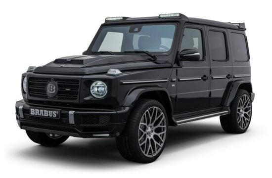 BRABUS for G 500 2 550x360 at Brabus Mercedes G500 (2019) Makes the G63 Redundant
