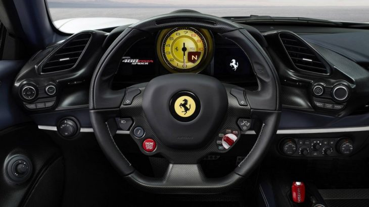Ferrari 488 Pista Spider 8 730x411 at Ferrari Pista Spider Is the Most Beautiful Thing Ever!