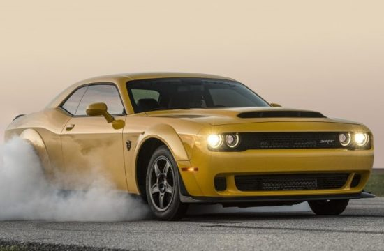 Hennessey Dodge Demon 1 550x360 at Hennessey Pushes Dodge Demon to 1000 Horsepower and Beyond
