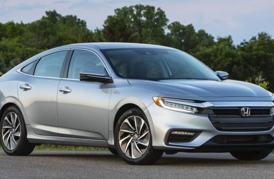 Honda Insight 013 550x360 at 2019 Honda Insight Earns its Top Safety Pick+ Badge