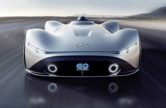 Mercedes Vision EQ Silver Arrow 2 550x360 at Things to consider when buying a Mercedes Benz