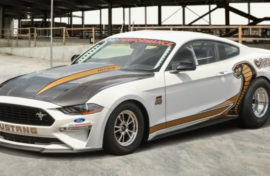 Mustang CJ 34Front 550x360 at 50th Anniversary Mustang Cobra Jet Revealed   Mid 8 1/4 Mile