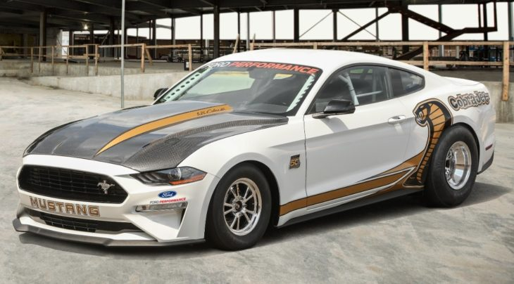 Mustang CJ 34Front 730x404 at 50th Anniversary Mustang Cobra Jet Revealed   Mid 8 1/4 Mile