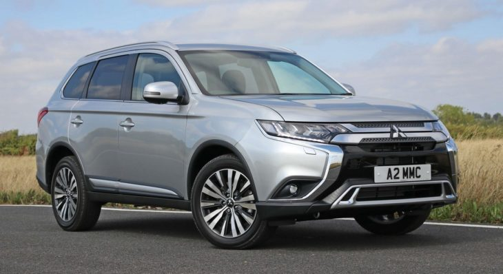 OutlanderPetrol 00 730x398 at 2019 Mitsubishi Outlander Hits UK from £27,680