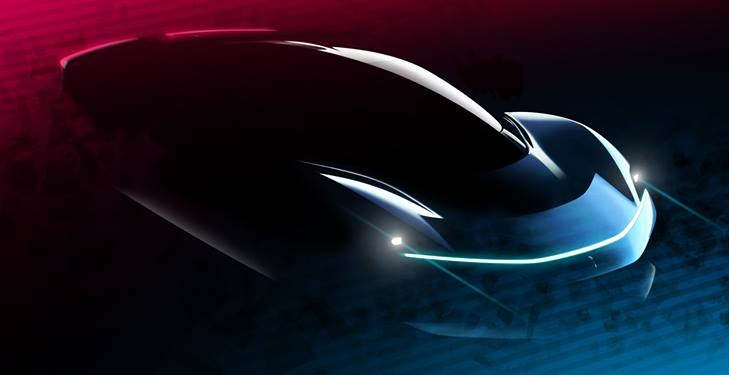 Pininfarina PF0 sketch 1 at Pininfarina PF0 Sketches Revealed Ahead of Pebble Beach Debut