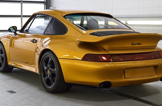 Porsche Project Gold 1 550x360 at Porsche Project Gold is a One Off 911 Turbo Set to be Auctioned
