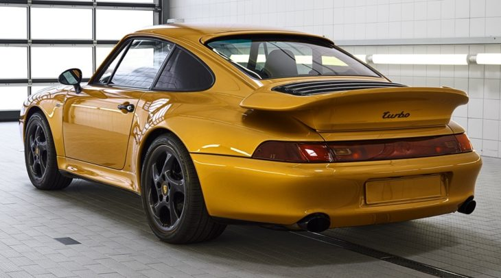 Porsche Project Gold 1 730x406 at Porsche Project Gold is a One Off 911 Turbo Set to be Auctioned
