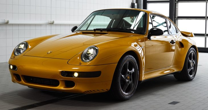 Porsche Project Gold 2 730x386 at Porsche Project Gold is a One Off 911 Turbo Set to be Auctioned