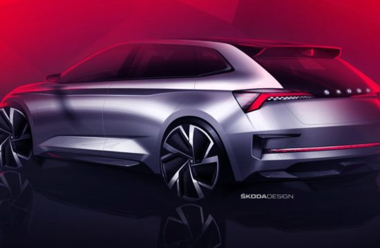 Skoda Vision RS 2 550x360 at Skoda Vision RS Concept Teased For Paris Motor Show