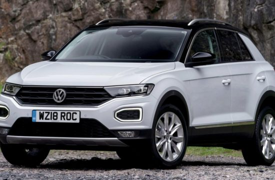 Volkswagen T Roc UK 2 550x360 at 2019 Volkswagen T Roc Gets a New Diesel Engine in the UK