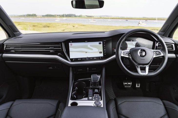 Volkswagen Touareg 2 730x487 at 2019 VW Touareg Gets New V6 TDI Engine in the UK