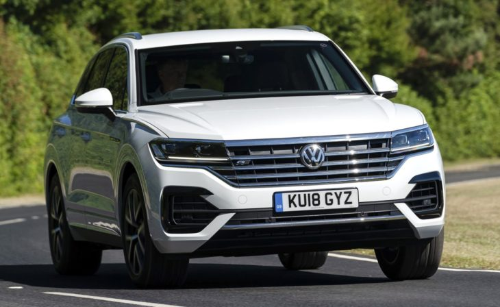 Volkswagen Touareg 4 730x448 at 2019 VW Touareg Gets New V6 TDI Engine in the UK