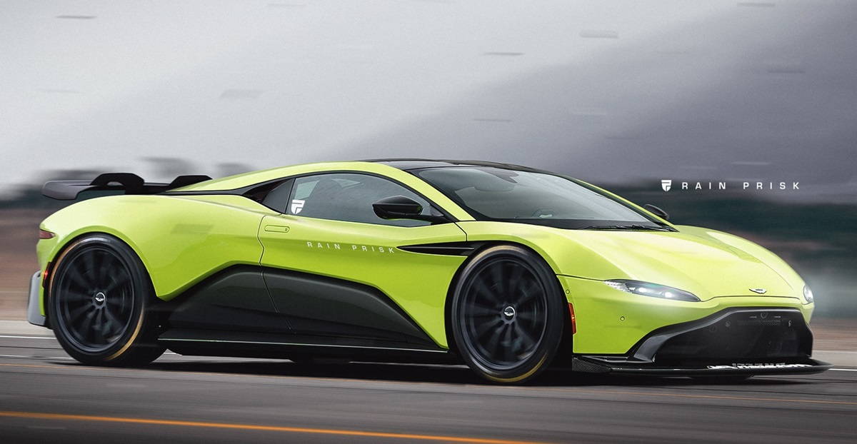 Baby Valkyrie Mid Engined Aston Martin Rendered Based On The