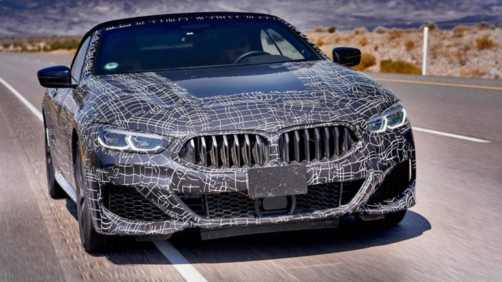 bmw 8 series convertible 5 730x411 at New BMW 8 Series Convertible Official Spy Shots