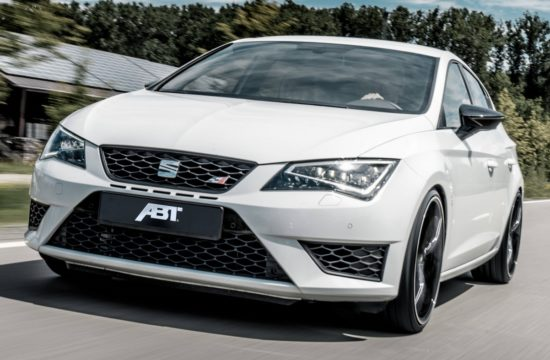 csm ABT SEAT Leon CUPRA GR 20 fahrend 04 76c7356e6e 550x360 at ABT SEAT Leon ST CUPRA Carbon Packs 370 PS