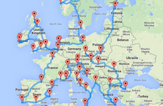 eurotrip 550x360 at 3 things you should do before your next European road trip