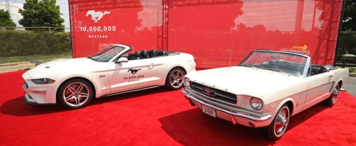 mustang 10million 730x299 at Ford Celebrates Production of 10 Millionth Mustang at Flat Rock