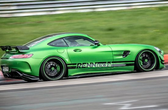 renntech amg gt r ring 1 550x360 at RENNtech AMG GT R Is The Quickest Benz at the Ring