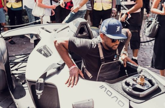 usher bac mono gumball 3000 550x360 at R&B Star Usher Starts Gumball 3000 in a BAC Mono