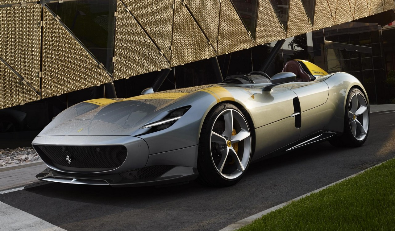 huge selection of 15cf8 7efb6 Ferrari is stepping up its bespoke, special series production to a whole  new level. The new Ferrari Monza SP1 and SP2 concepts showcase what you can  expect ...