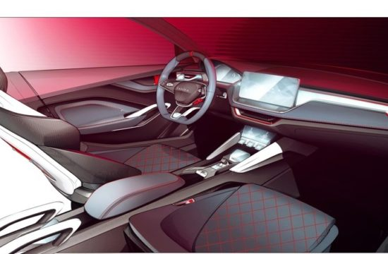 1 VISION RS Interior 550x360 at Skoda Vision RS Concept Interior Teased