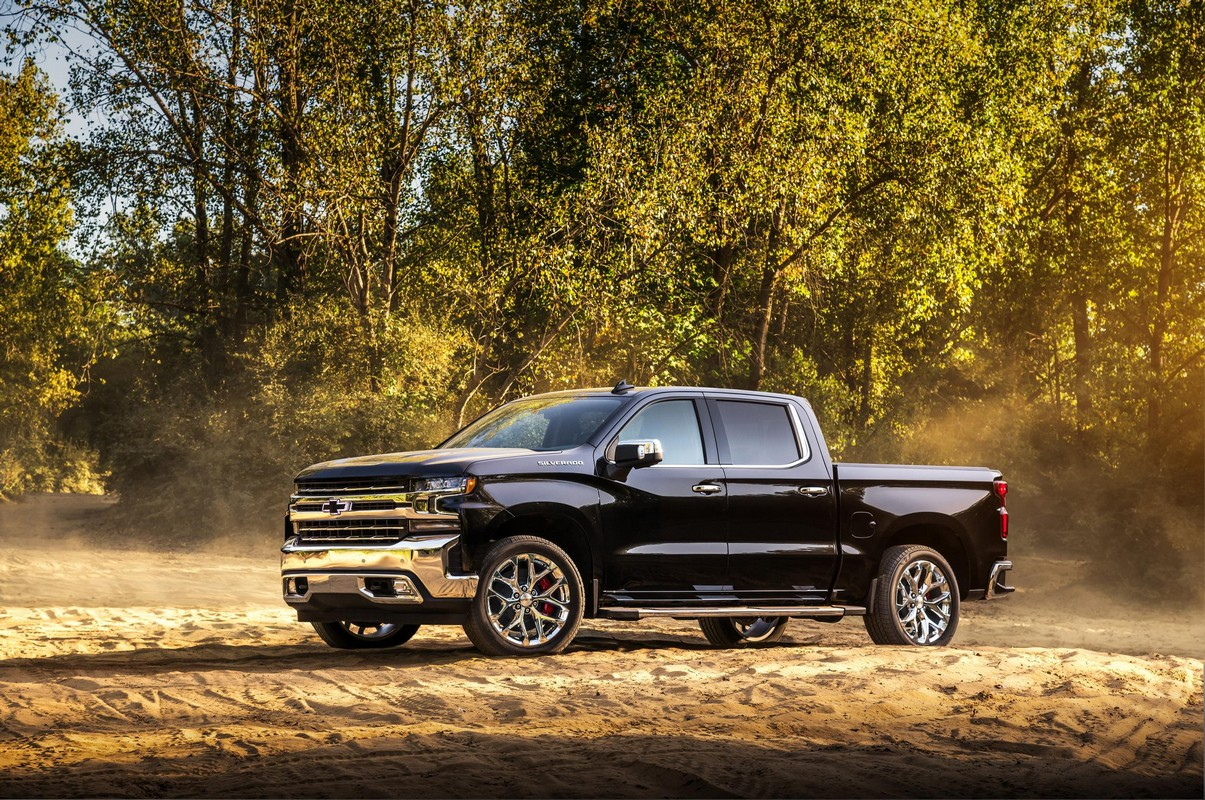 2019 Chevrolet Silverado High Country Concept Is All About